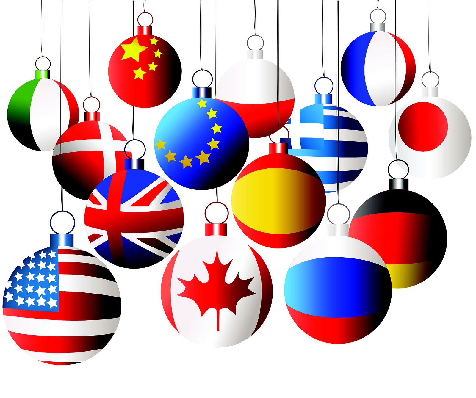 International ornaments